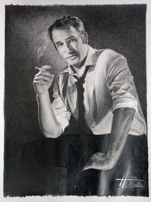 Jean Dujardin por hedwige